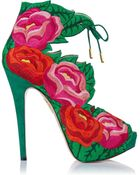 Charlotte Olympia Hibiscus - Lyst