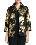 Caroline Rose Abstract Painterly Printed Jacket - Lyst