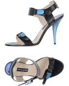 Alberto Guardiani High-Heeled Sandals - Lyst