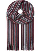 Hugo Boss Stripe Scarf - Lyst