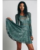 Free People Lovers Folk Song Dress - Lyst