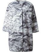 Moschino Cheap & Chic Three-Quarter Sleeve Coat - Lyst