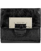 Kenneth Cole Reaction Kenneth Cole Reation Metal Head Double Flap Indexer - Lyst