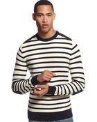 Tommy Hilfiger Oliver Textured Striped Sweater - Lyst