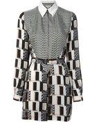 Kenzo Shirt Dress - Lyst