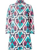 DSquared² Printed Jacket - Lyst