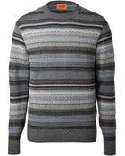 Missoni Wool Striped Knit Pullover - Lyst