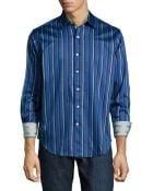 Robert Graham Winston Multi-Stripe Sport Shirt - Lyst