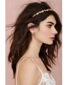 Nasty Gal Bed Of Roses Headband - Lyst