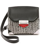 Alexander Wang Marion Sling Bag - Black And Concrete - Lyst