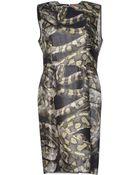Lanvin Short Dress - Lyst