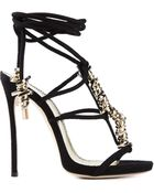 DSquared² Barbed Wire Sandals - Lyst