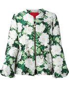 Moncler Gamme Rouge Rose Jacquard Jacket - Lyst