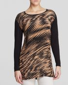 Nic + Zoe Nic + Zoe Blurred Lines Print Tunic - Lyst