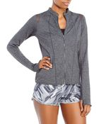 Under Armour Charcoal Studio Rave Jacket - Lyst