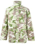 Gosha Rubchinskiy Camouflage Patchwork Jacket - Lyst