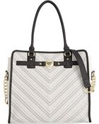 Marc Fisher Crossroads Belted Tote - Lyst