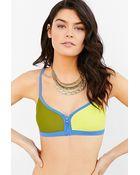 Roxy Quick Set Bikini Top - Lyst