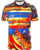 Versace Printed T-Shirt - Lyst