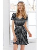 Oh My Love Back Cut-Out Dress - Lyst
