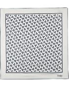 Drake's Square Print Cotton Silk Pocket Square - For Men - Lyst