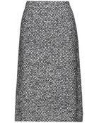 Dolce & Gabbana Tweed Skirt - Lyst