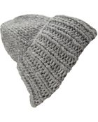 Forever 21 Chunky Knit Fold-Over Beanie - Lyst