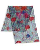 Etro Paisley & Rose-Print Scarf - Lyst