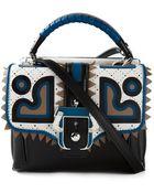 Paula Cademartori Kate Leather Shoulder Bag - Lyst
