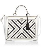 River Island White Smart Detail Tote Bag - Lyst