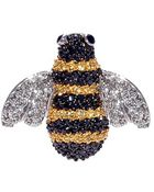 Noir Jewelry Lee The Bee Ring - Lyst