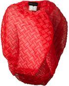 Comme des Garçons Basket Weave Wrap Jacket - Lyst