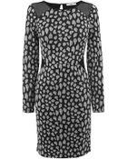 Oasis Sparkle Animal Bodycon Dress - Lyst