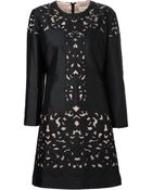 Temperley London Lace Fitted Dress - Lyst