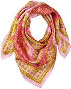 Versace Intricate Greca Scroll Foulard - Lyst