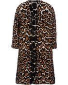 Sonia Rykiel Leopard Coat - Lyst