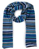 Paul Smith Knitted Striped Scarf - Lyst