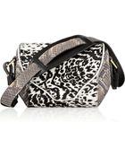 Newbark Angie Leopard-Print Calf Hair Shoulder Bag - Lyst