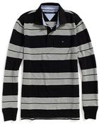 Tommy Hilfiger Pique Long Sleeve Polo - Lyst