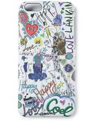 Lanvin Printed Iphone 6 Case - Lyst