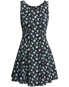 H&M Crêpe Dress - Lyst