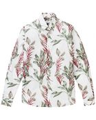 Hentsch Man White Floral Friday Shirt - Lyst