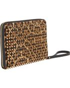 Christian Louboutin Spiked Leopardpattern Ipad Mini Case - Lyst