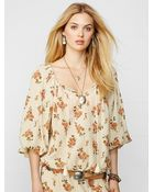 Denim & Supply Ralph Lauren Floral Boho Top - Lyst