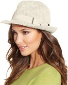 Collection XIIX Color Expansion Fedora - Lyst