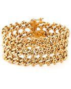 Lanvin Vintage Chain Bracelet - Lyst