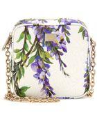 Dolce & Gabbana Floral-Brocade Shoulder Bag - Lyst