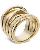 Michael Kors Crisscross Ring - Lyst