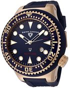 Swiss Legend Neptune (52 Mm) Blue Silicone Blue Dial - Lyst