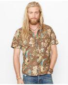 Denim & Supply Ralph Lauren Floral Poplin Sport Shirt - Lyst
